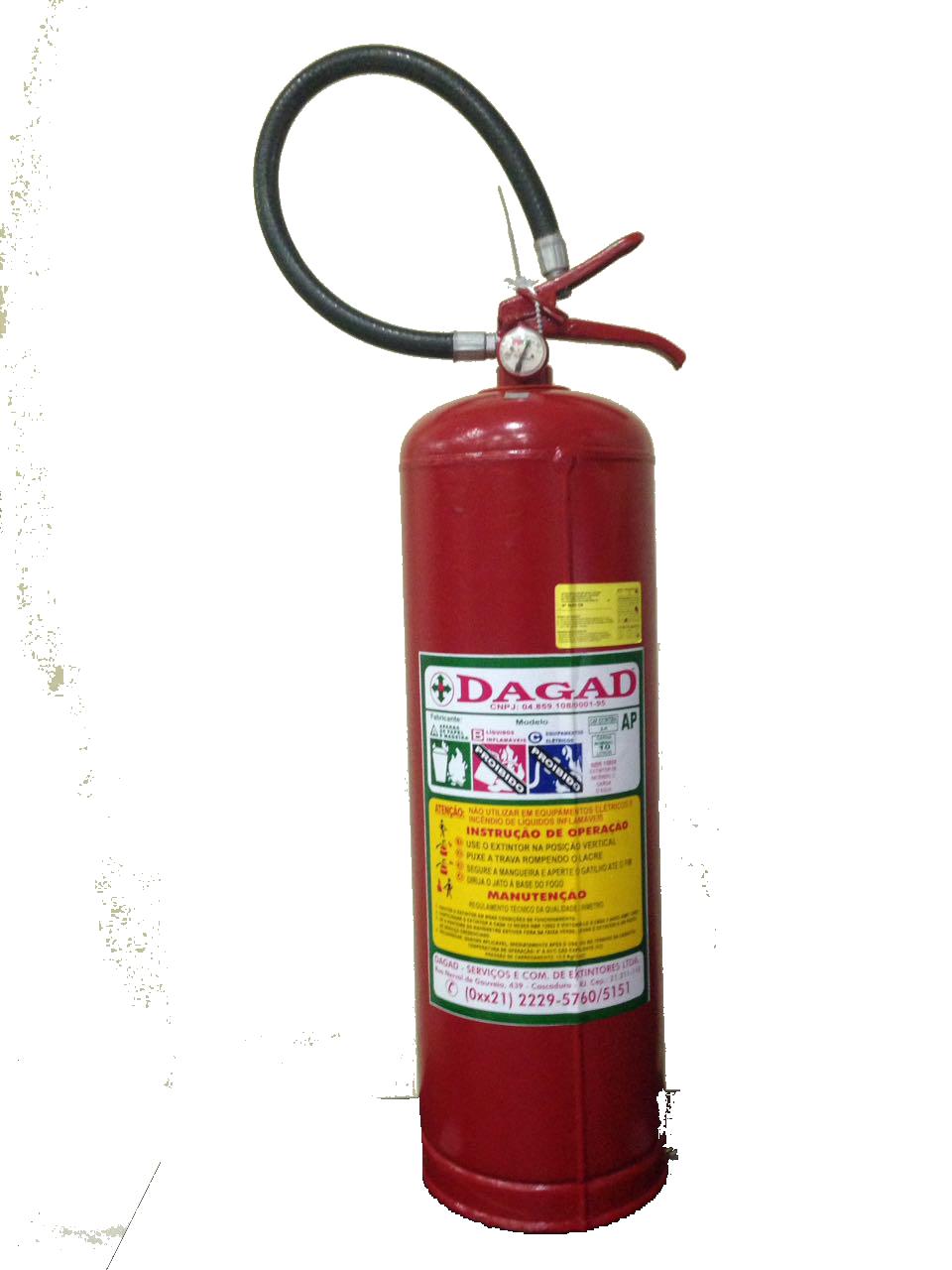 Aluguel de Extintor de Incêndio AP 10L – Dagad Shopping 2283b00b78